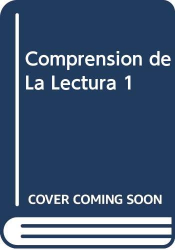 Comprension de La Lectura 1 (Spanish Edition): Condemarin, Mabel, Chadwick,
