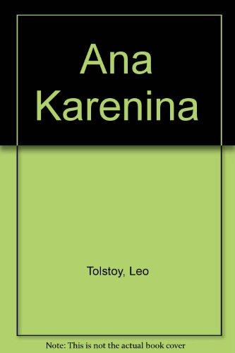 9789561313880: Ana Karenina (Spanish Edition)