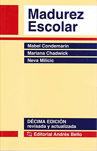 9789561317956: Madurez Escolar (Spanish Edition)