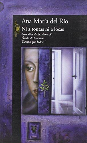 NI A TONTAS NI A LOCAS (HISPANICA): DEL RIO, ANA
