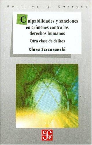 Culpabilidades y sanciones en crímenes contra los: Clara, Szczaranski