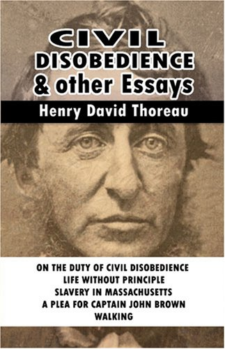 9789562910682: Civil Disobedience and Other Essays