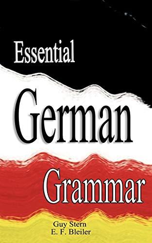 9789562914505: Essential German Grammar
