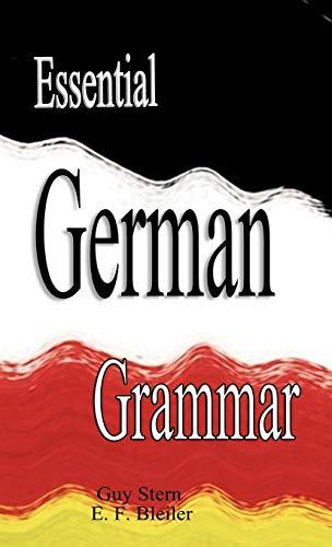 9789562914512: Essential German Grammar