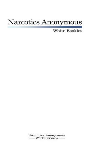 9789563100105: Narcotics Anonymous: White Booklet