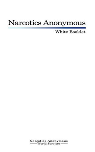 9789563100112: Narcotics Anonymous: White Booklet