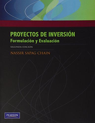 9789563431063: Proyectos de inversion
