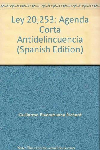 9789567498352: Ley 20,253: Agenda Corta Antidelincuencia (Spanish Edition)