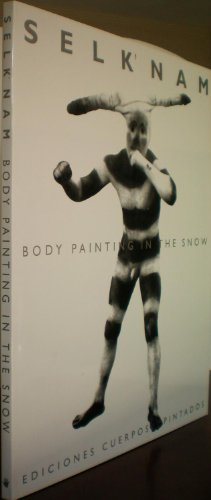 SELK'NAM: BODY PAINTING IN THE SNOW. 1923: Gusinde (fotographer), Martin.