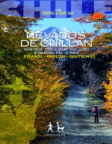 9789568925109: Nevados de Chillán - Wanderkarte
