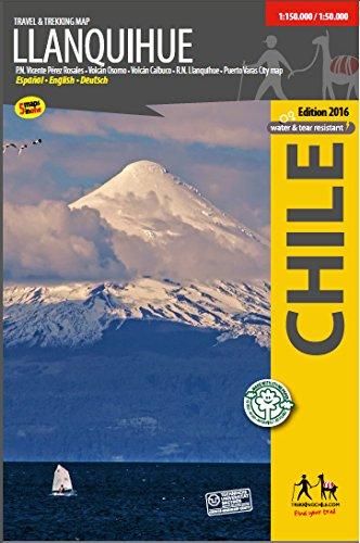 Llanquihue - Wanderkarte: Trekkingchile