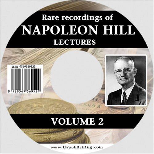 9789569569524: Rare Recordings of Napoleon Hill Lectures: 2
