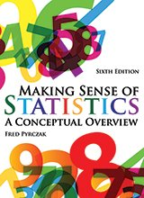 9789576171567: By Fred Making Sense of Statistics: A Conceptual Overview, 6th Sixth Edition [Paperback]