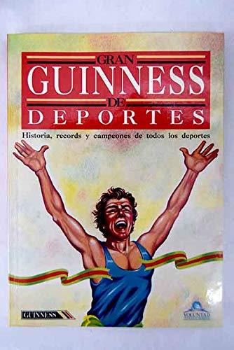 9789580206835: Gran guinness de deportes: Historia, records y campeones de todos los deportes