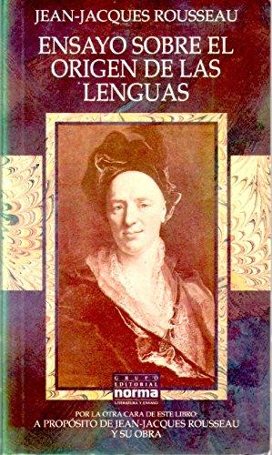 9789580425915: ENSAYO SOBRE EL ORIGEN DE LAS LENGUAS