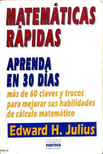 9789580427506: Matemáticas rapidas