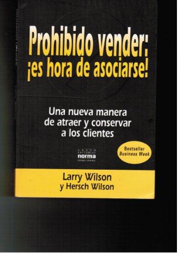 9789580434214: Prohibido Vender - Es Hora de Asociarse (Spanish Edition)