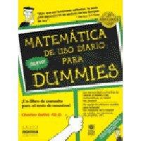 9789580435143: Matematica Uso Diario Para Dummies