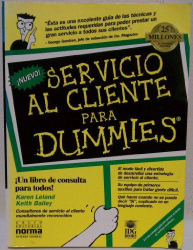 Servicio al Cliente Para Dummies: Keith Bailey, Karen Leland