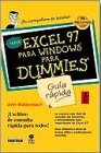 9789580442660: Excel 97 para Windows para Dummies