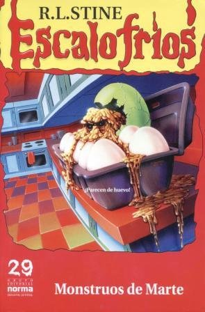 9789580442899: Monstruos de marte (Escalofríos #29) (Spanish Edition)