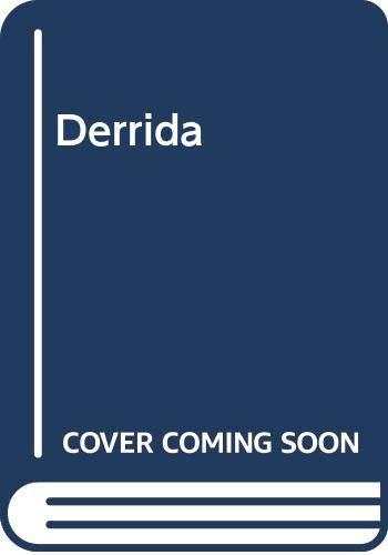 9789580444862: Derrida