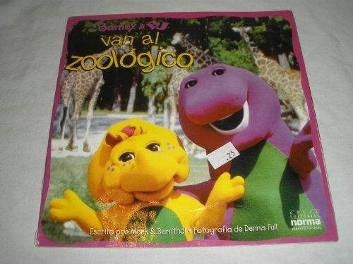 9789580452331: Barney & BJ Van Al Zoologico (Spanish Edition)