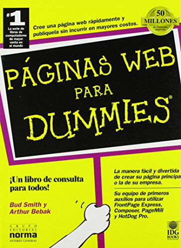 9789580452812: Paginas Web Para Dummies (Spanish Edition)