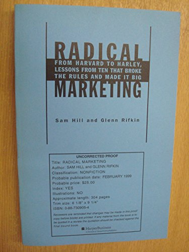 9789580454229: Marketing Radical (Spanish Edition)