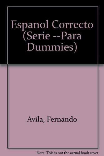 9789580459255: Espanol Correcto (Serie --Para Dummies)