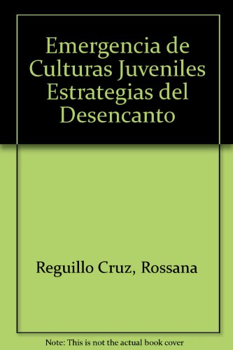9789580460015: Emergencia De Culturas Juveniles (Spanish Edition)