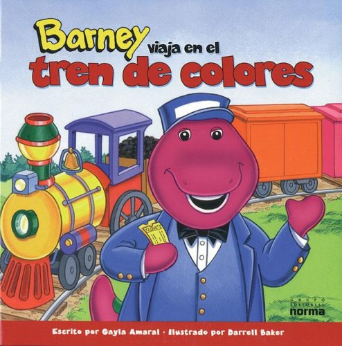 9789580462538: Barney Viaja En El Tren de Colores (Spanish Edition)
