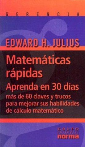9789580470281: Matematicas rapidas (Spanish Edition)