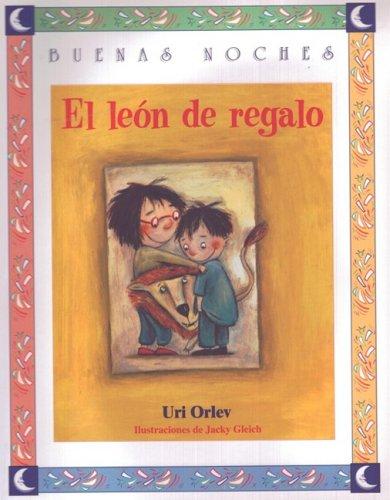 9789580476658: El Leon De Regalo (Buenas Noches)