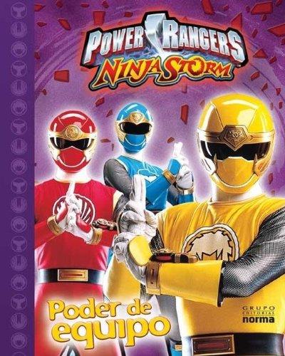 9789580480761: Power Rangers Ninja Storm (Spanish Edition)