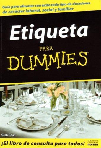 9789580480945: Etiqueta Para Dummies