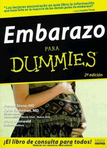 9789580486206: Embarazo Para Dummies/ Pregnancy for Dummies