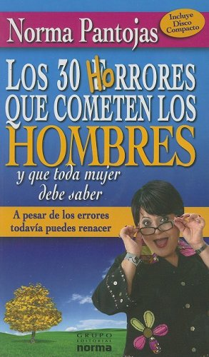 9789580499534: Los 30 Horrores que cometen los Hombres/ The 30 Awful Mistakes that Men Do (Spanish Edition)
