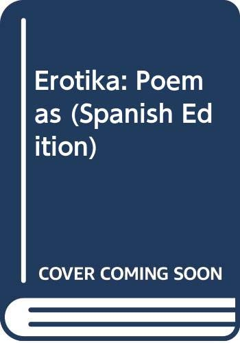 9789582810542: Erotika: Poemas (Spanish Edition)