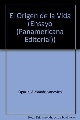 9789583004193: El Origen de la Vida (Ensayo (Panamericana Editorial)) (Spanish Edition)