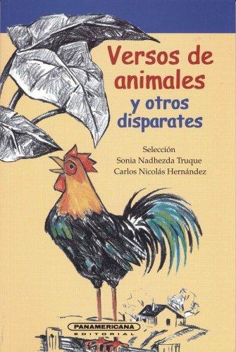 9789583006524: Versos Animales y Otros Disparates: Antologia de Poesia Infatil