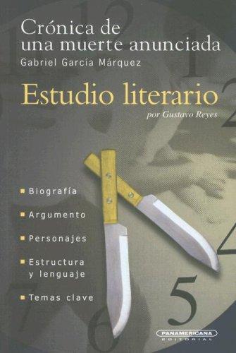 9789583008221: Cronica De Una Muerte Anunciada (Estudio Literario)