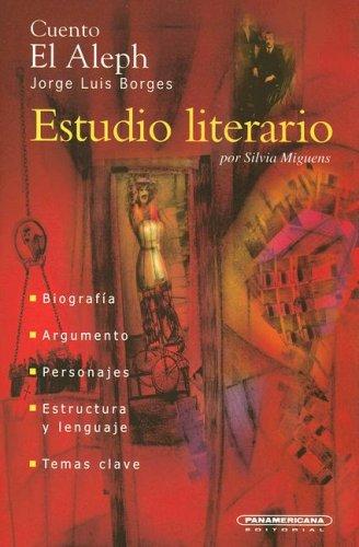 9789583011177: El Aleph (Estudio Literario) (Spanish Edition)