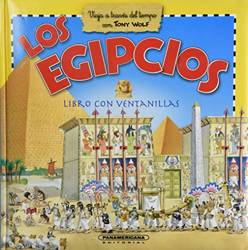 9789583024580: Los egipcios / Egyptians: Con Ventanas / Book With Windows