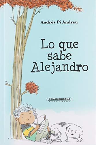 9789583040405: Lo Que Sabe Alejandro
