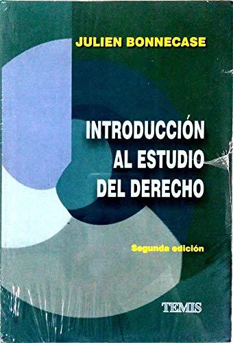 INTRODUCCION AL ESTUDIO DEL DERECHO [Paperback] by