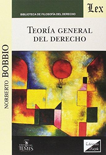 9789583510946: Teoría general del derecho