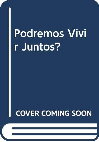 9789583800757: Podremos Vivir Juntos? (Spanish Edition)