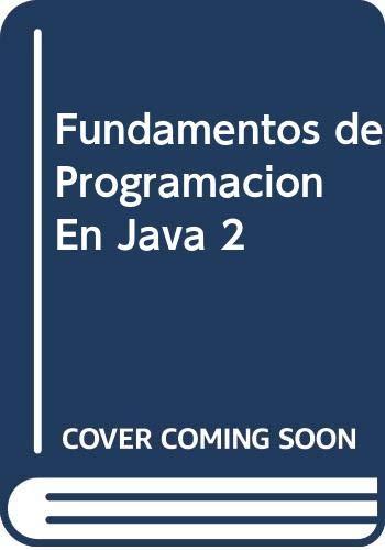 9789584102287: Fundamentos de Programacion En Java 2 (Spanish Edition)