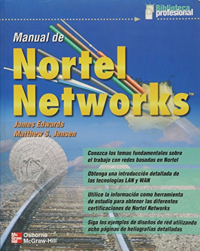 9789584102799: Manual de Nortel Networks (Spanish Edition)